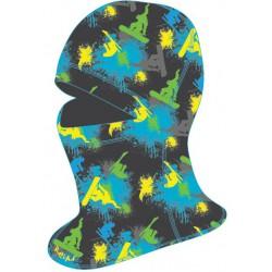 Relax Shield RK02D dámská/dětská černá zimní kukla