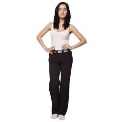 Husky Limbie L černá dámské softshellové kalhoty