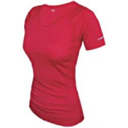 Jitex BoCo Kamada 801 TSS tmavě červená dámské triko krátký rukáv Merino vlna