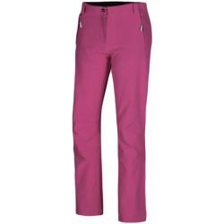 Husky Ambel purpurová dámské softshellové kalhoty