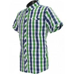 Husky Greim zelená pánská košile krátký rukáv