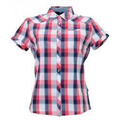 Husky Gvel růžová dámská košile krátký rukáv