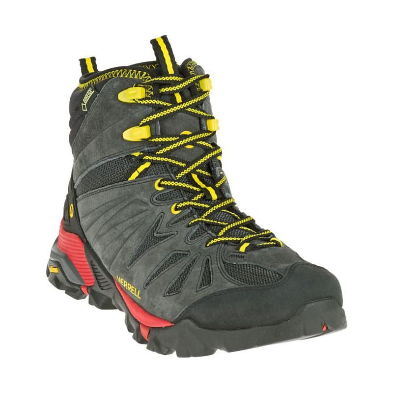 Merrell Capra Mid GTX granite J35329 pánské zimní nepromokavé boty (3) ... 9e114dfd8e