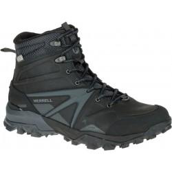 Merrell Capra Glacial Ice+ Mid WTPF black J35799 pánské zimní nepromokavé boty