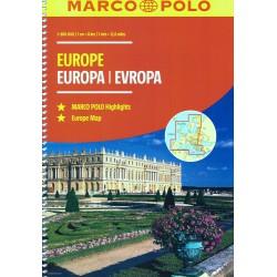 Marco Polo Evropa 1:800 000 autoatlas
