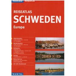 Kunth Švédsko 1:300 000 autoatlas (1)