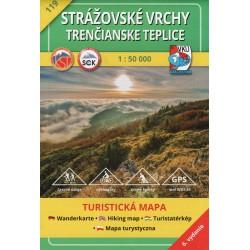 VKÚ 119 Strážovské vrchy, Trenčianske Teplice 1:50 000 turistická mapa