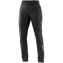 Salomon Momemtum Softshell Pant W black 373964 dámské softshellové kalhoty