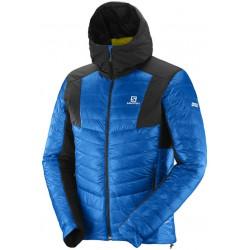Salomon S-LAB X Alp Down Hoodie M union blue 377104  pánská zimní péřová bunda