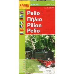 ORAMA Pelion/Pilio 1:100 000 turistická mapa