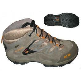 Salomon Extend Mid GTX K swamp 433715 dětské nepromokavé trekové boty