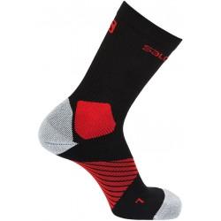 Salomon XA Pro black/matador 398233 sportovní ponožky