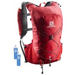 Salomon Agile 12l Set barbados cherry/graphite 401635 běžecký batoh + 2 ks měkké láhve