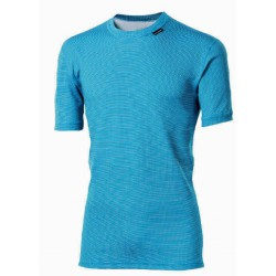 Progress Micro Sense MS NKR tyrkysová pánské triko krátký rukáv
