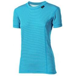 Progress Micro Sense MS NKRZ tyrkysová dámské triko krátký rukáv