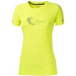 Progress Pantera Hi-viz reflexní žlutá dámské triko krátký rukáv