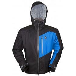 High Point Master Jacket black/blue pánská nepromokavá bunda BlocVent Pro Superlight 3L