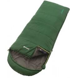 Outwell Campion Junior green dětský letní dekový spací pytel Isofill