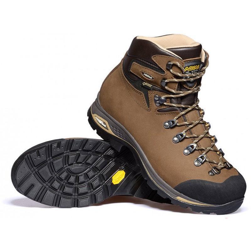 Asolo Fandango Duo GV MM GTX brown pánské nepromokavé kožené trekové boty e3a13a1577