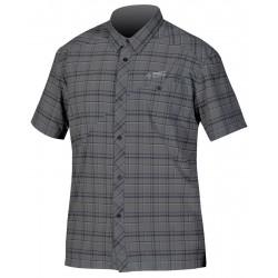 Direct Alpine Ray 3.0 black/grey pánská košile krátký rukáv