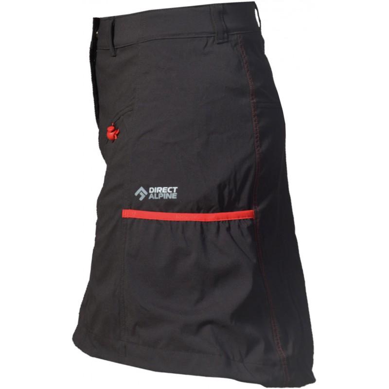 23fd51f445b ... Direct Alpine Jasmin 1.0 black red dámská sportovní sukně 1 ...