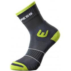 Progress Walking Sox šedá/zelená trekové ponožky ClimaWell