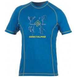 Direct Alpine Furry 1.0 blue/gold (activity) pánské triko krátký rukáv Merino