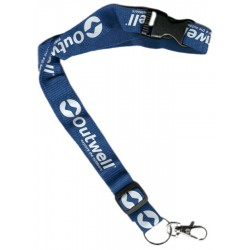 Outwell Strap šňůrka na krk s karabinou modrá - dárek k nákupu nad 3000 Kč/111 Eur