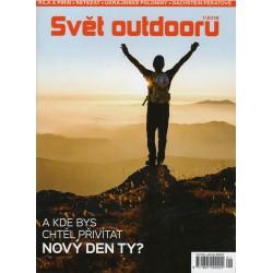 Svět outdooru 01/2018 - dárek k nákupu nad 3000 Kč/111 Eur