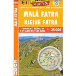 SHOCart 705 Malá Fatra 1:25 000 turistická mapa