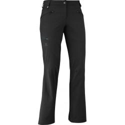 Salomon Wayfarer Pant W black 363397 dámské lehké softshellové kalhoty