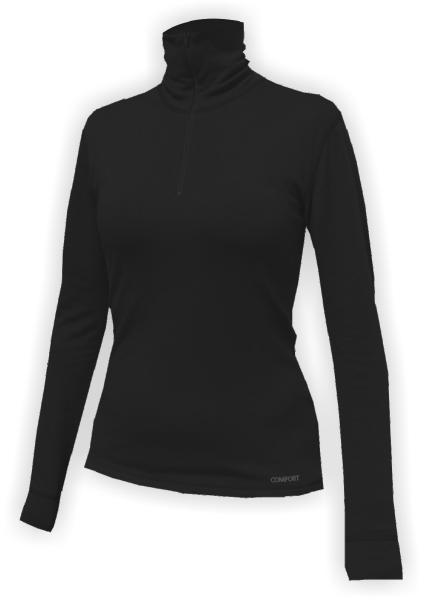 Jitex Klesa 830 THS černá dámské triko rolák dlouhý rukáv Merino vlna de22c18888e