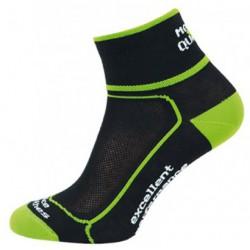 Novia Cyklo Excellet černá nízké sportovní ponožky