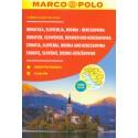 Marco Polo Chorvatsko, Slovinsko, Bosna a Hercegovina 1:300 000 autoatlas
