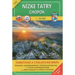VKÚ 122 Nízke Tatry, Chopok 1:50 000 turistická mapa
