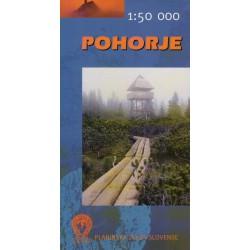 Geodetski Pohorje 1:50 000 turistická mapa