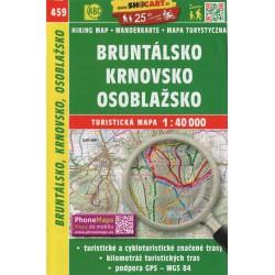 SHOCart 459 Bruntálsko, Krnovsko, Osoblažsko 1:40 000 turistická mapa