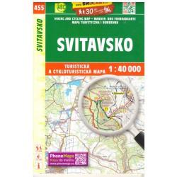 SHOCart 455 Svitavsko 1:40 000 turistická mapa