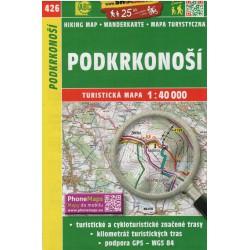 SHOCart 426 Podkrkonoší 1:40 000 turistická mapa