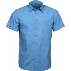 High Point Trion SS Shirt blue pánská košile krátký rukáv