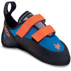 Triop Junior Fox modrá/oranžová dětské lezečky