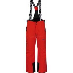 Husky Zeus K oranžová dětské nepromokavé zimní lyžařské kalhoty