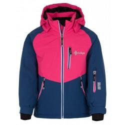 Kilpi Montana-JG tmavě modrá dětská nepromokavá zimní lyžařská bunda