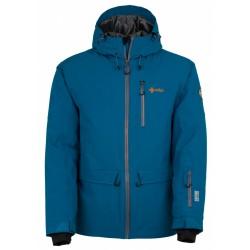 Kilpi Clif-M modrá pánská nepromokavá zimní lyžařská bunda 20000