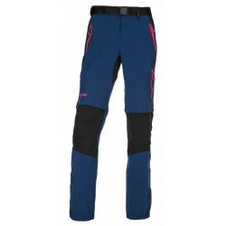 Kilpi Hosio-W tmavě modrá dámské odepínací turistické kalhoty (2)