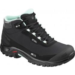 Salomon Shelter CS WP W Black/Eggshell blue 404731 dámské zimní nepromokavé boty