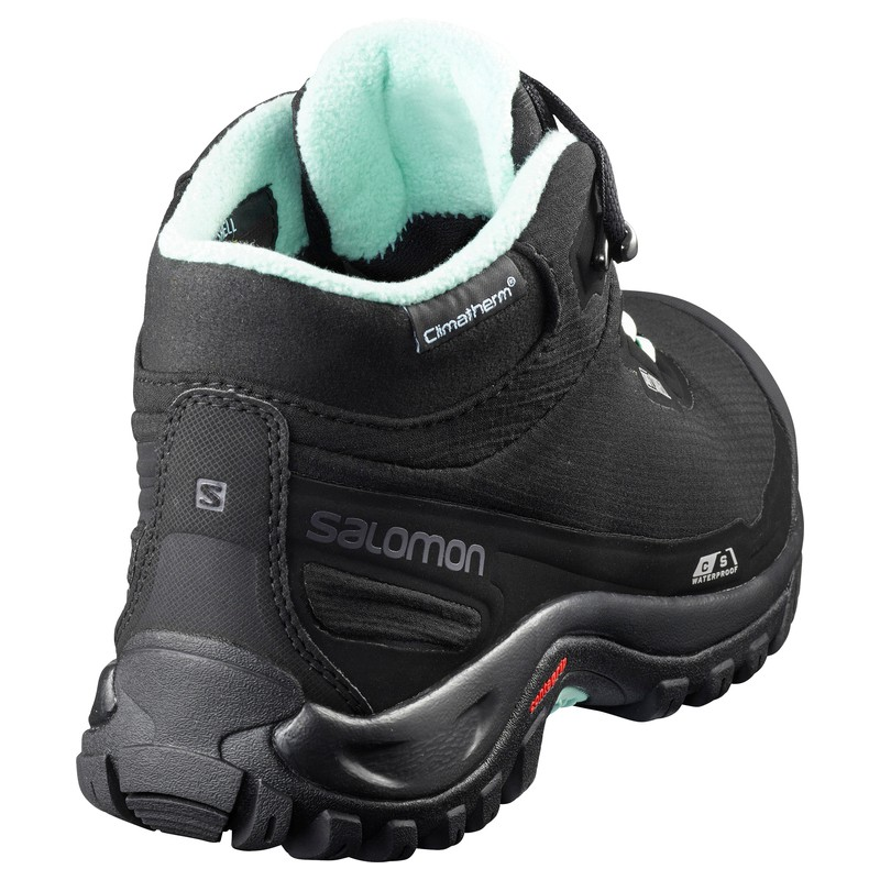 e8841ac9da7 ... Salomon Shelter CS WP W Black Eggshell blue 404731 dámské zimní  nepromokavé boty3 ...