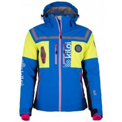 Kilpi Team-W modrá dámská nepromokavá zimní lyžařská bunda