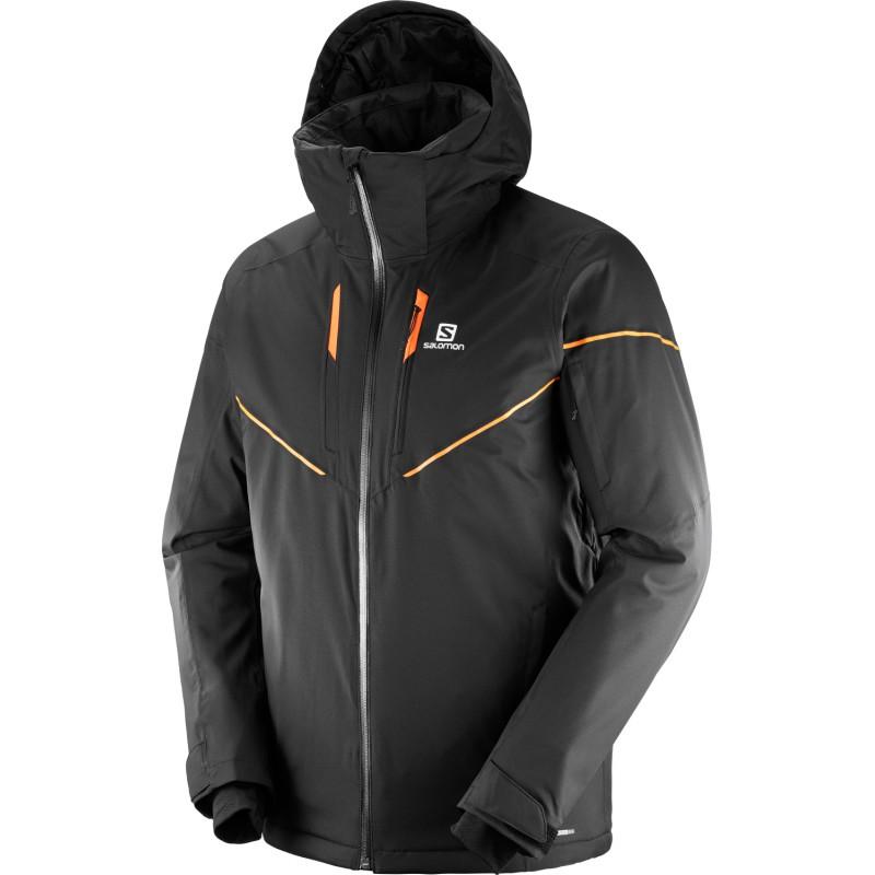 Salomon Stormrace Jacket M black 403928 pánská nepromokavá zimní ... bff9b6e3f19