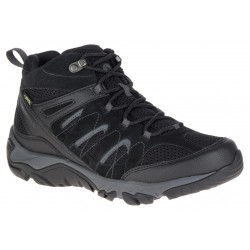 Merrell Outmost Mid Vent GTX black J09505 pánské nepromokavé trekové boty1